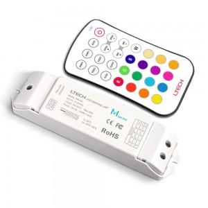 LED strip panel + control LTECH Mini 6 RGB 20A white 12-24V