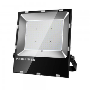 LED floodlight PROLUMEN FL2 black 230V 100W 15000lm CRI70 120° IP65 5000K pure white