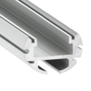 Alumiiniprofiili LUZ NEGRA Paris 2m hopea