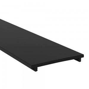 Aluminium profile cover LUZ NEGRA BLACK&WHITE EASY-ON