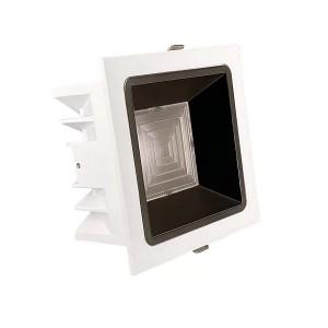 Локальный LED светильник PROLUMEN Toulouse TRIAC белый квадрат 230V 12W 1080lm CRI90 55° IP20 3000K теплый белый