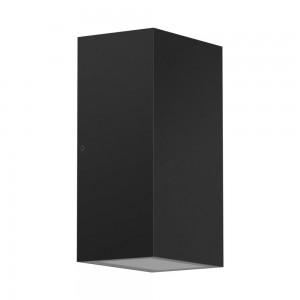 LED wall light PROLUMEN WL73 black 230V GU10 IP65