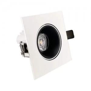 Локальный LED светильник PROLUMEN Nantes TRIAC honeycomb белый квадрат 230V 12W 1080lm CRI90 36° IP20 3000K теплый белый