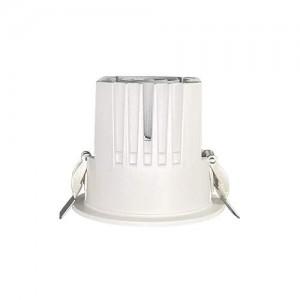 LED Allvalgusti PROLUMEN Ripon (TRIAC), kärgfiltriga valge ring 230V 8W 870lm CRI90 36° IP20 4000K päevavalge