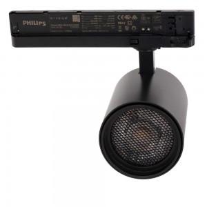 LED Siinivalgusti PROLUMEN Bristol + kärgfilter must 230V 32W 3000lm CRI90 36° IP20 4000K päevavalge
