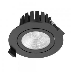 Локальный LED светильник PROLUMEN CL102 2.5 TRIAC черный круглый 230V 13W 1010lm CRI90 36° IP65 3000K теплый белый