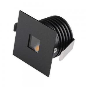 LED Allvalgusti REVAL BULB Lucelle must ruut 230V 3W 300lm CRI90 IP65 3000K soe valge
