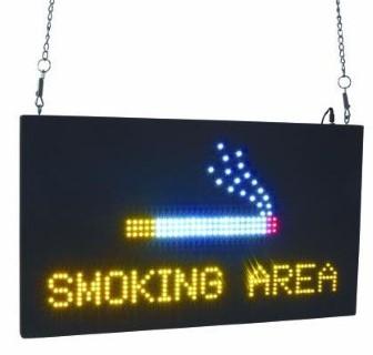 LED Silt  SMOKING AREA  15W