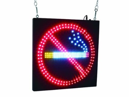 LED Silt  NO SMOKING  15W